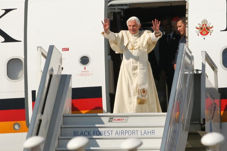 S.H. Papst Benedikt in Lahr